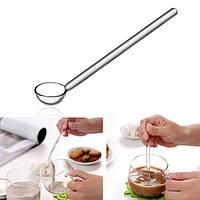 Прозрачные стеклянные инструменты кофе совок сахара ложка кофейная ложка для перемешивания боросиликатного