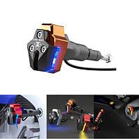 12V мотоцикл Slider Анти Crash Палка Rod Light Scooter LED Лампа Передний вилочный задний амортизатор
