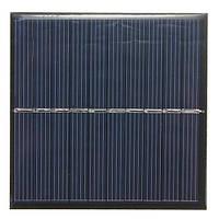 5v 175ma 0.87w 84x84x3.0mm поликристаллического мини-панели солнечных батарей фотоэлектрические панели