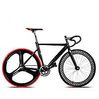700c гоночный велосипед из алюминиевого сплава рама неподвижный механизм фиксированной винтиком езда на велосипеде следа