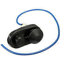 Черный автомобиль межкомнатной двери плафон Выключатель фонаря кнопка универсальный