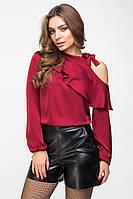 Блуза 8-2105 - марсала: 42,44,46