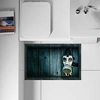 Паг 3d Антипробуксовочная водонепроницаемый ванной респиратор рисунок пола наклейка стирать кухня декор