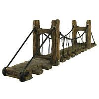Yani Аквариумный декор Украшение орнамента для рыбных украшений Coral Реалистичный мост оформление