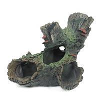 Yani Аквариум Украшения Fish Tank Tree Wood Hideaway House Ornament реалистический Аквариум оформление