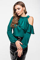 Блуза 8-2104 - бутылочный: 42,44,46