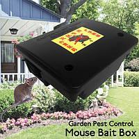 Инструмент контроля вредителей сада замком мыши грызунов пластиковая приманка яд коробка с ключом