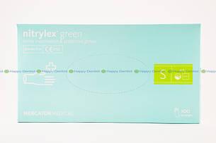 Nitrylex Green (Нитрилекс Грин) зеленые перчатки