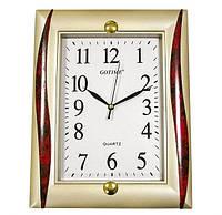 Настенные пластиковые часы прямоугольные