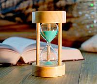 Песочные часы зеленый песок 5 минут (6х6х11 см) 0537d83cc9c53