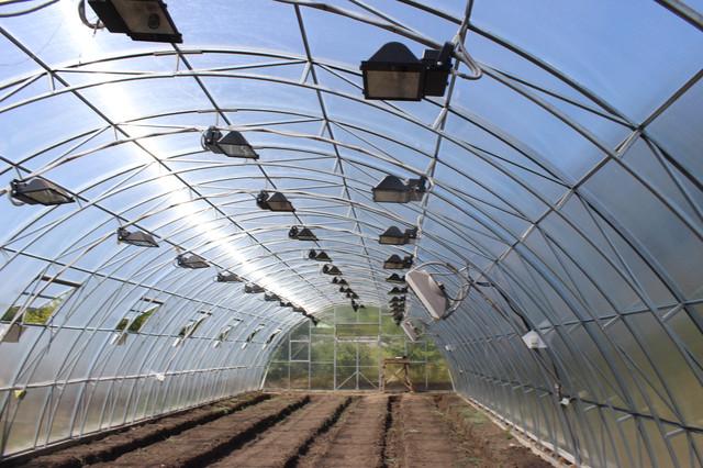 фермерские теплицы под поликарбонат