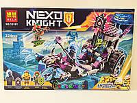 Конструктор Bela 10591 Nexo Knight «Мобильная тюрьма Руины»