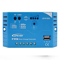 Landstar LS1012EU 10A 12V EPSOLAR Солнечная Контроллер заряда 5VDC 1.2A USB