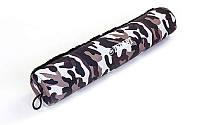 Накладка на гриф смягчающая  (PL, поролон, l-40см, d-8см, камуфляж)