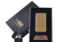 USB зажигалка в подарочной упаковке ZHONG RUI (Двухсторонняя спираль накаливания)