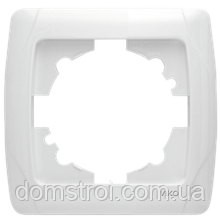 Рамка одинарная VIKO Carmen белая