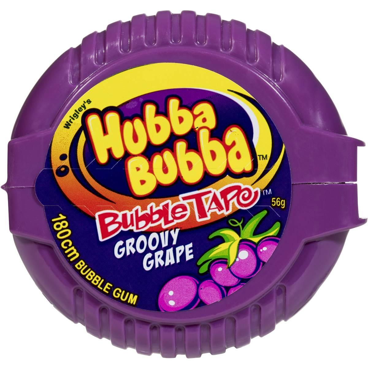 Жевательная резинка Hubba Bubba Tape Himbeer Хубба-Бубба малина