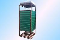 Летний душ, душевая кабинка, уличный душ под ключ