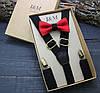 Набор I&M Craft галстук-бабочка и подтяжки для брюк (030222)