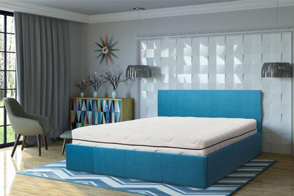 Мягкая кровать Порто ( любого цвета и размера )