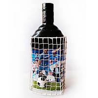 Декор бутылки Футбольному фанату ФК Челси Подарок парню футболисту на день рождения
