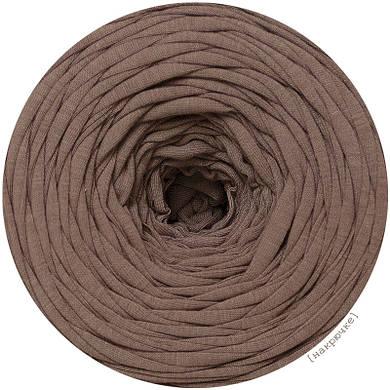 Пряжа трикотажная Pastel XL, цвет Кофейный Брауни (85 м)