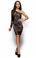 Унікальне коктейльне чорне плаття з гіпюру Samter (S, M)