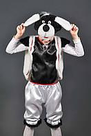 Детский карнавальный костюм СОБАЧКА, собака  (белая)