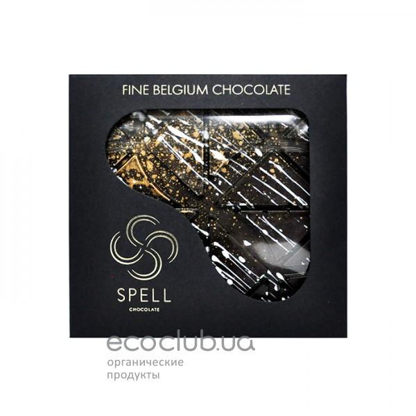 Шоколад черный с солью SPELL 120 г