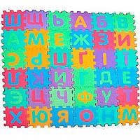Коврик Мозаика для детей M 0378 - 2 вида: Русский и Украинский алфавит