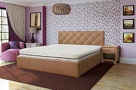 Мягкая кровать Лира ( любого цвета и размера)
