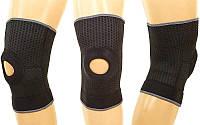 Наколенник (фиксатор коленного сустава) с открытой коленной чашечкой (1шт) (р-р регул.)