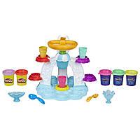 PLAY-DOH набор Фабрика мороженого  Kitchen Creations Swirl 'n Scoop Ice Cream