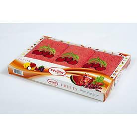 Набор махровых полотенец Vevien - Cherry