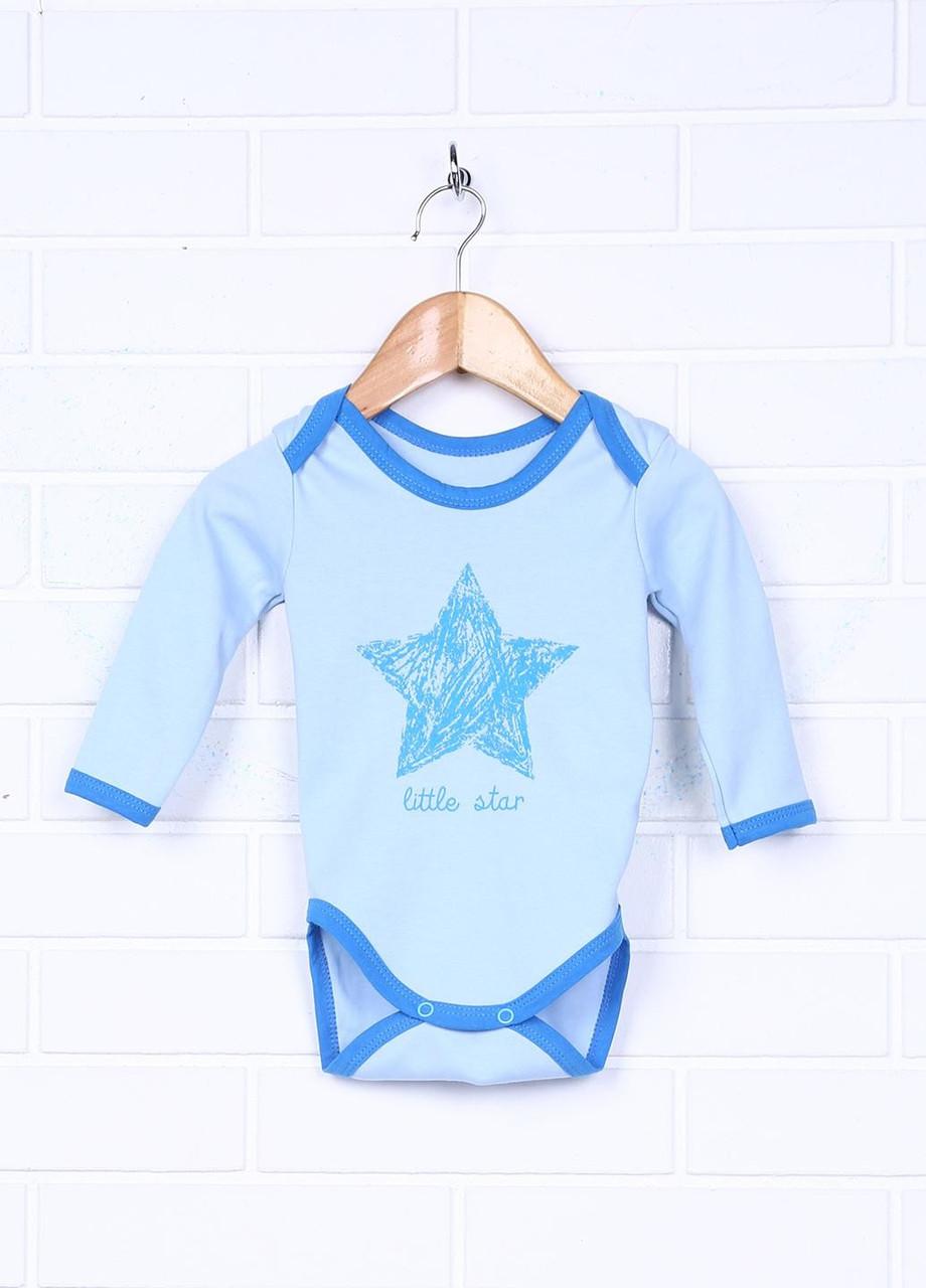 """Детский боди """"Маленькая звездочка"""" длинный рукав"""