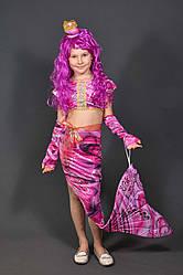 Детский карнавальный костюм РУСАЛОЧКА, РУСАЛКА, РЫБКА (с париком 590 грн) на 5,6,7,8,9,10,11 новогодний 327