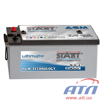 Акумулятор 6СТ-140 (3) AGM Start Ultimate, левый +, 1000A