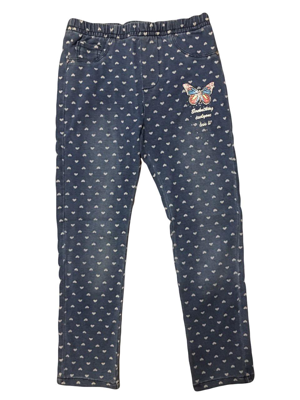 Леггинсы для девочек под джинс опт, GRACE, размеры 98-128 арт. G80652