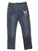 Леггинсы для девочек под джинс опт, GRACE, размеры 98-128 арт. G80652, фото 1