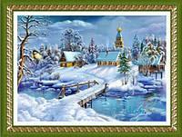 """Алмазная вышивка """"Зима"""", фото 1"""