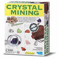 Набор для раскопок: Минералы Кристалл, 4М