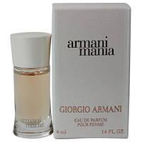 Женская парфюмированная вода Giorgio Armani Armani Mania White Mini edp 4 мл