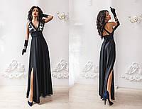 Женское платье из искусственного шелка 454 МВ