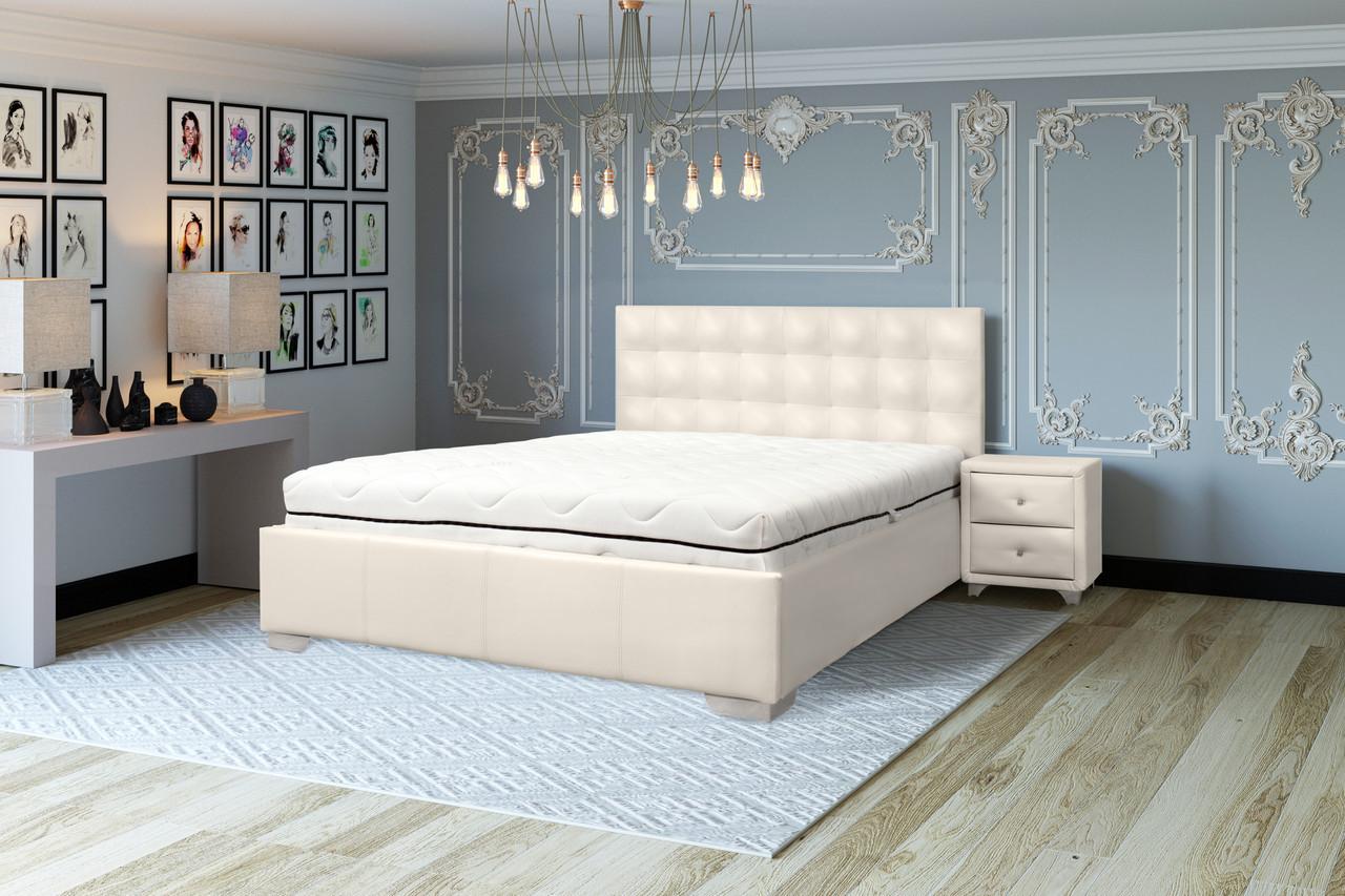 Мягкая кровать Теннесси с подъемным механизмом (все размеры)