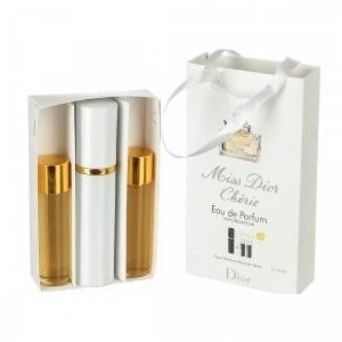 CHRISTIAN DIOR Мини парфюм Christian Dior Miss Dior Cherie Woman EDP 3X15 ML. LUX
