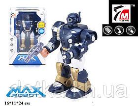 Робот 7M-411 на батар муз свет