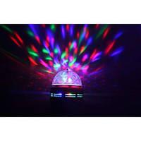Диско лампа вращающаяся LED