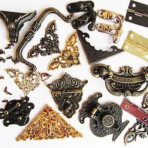 Фурнитура для шкатулок и ключниц