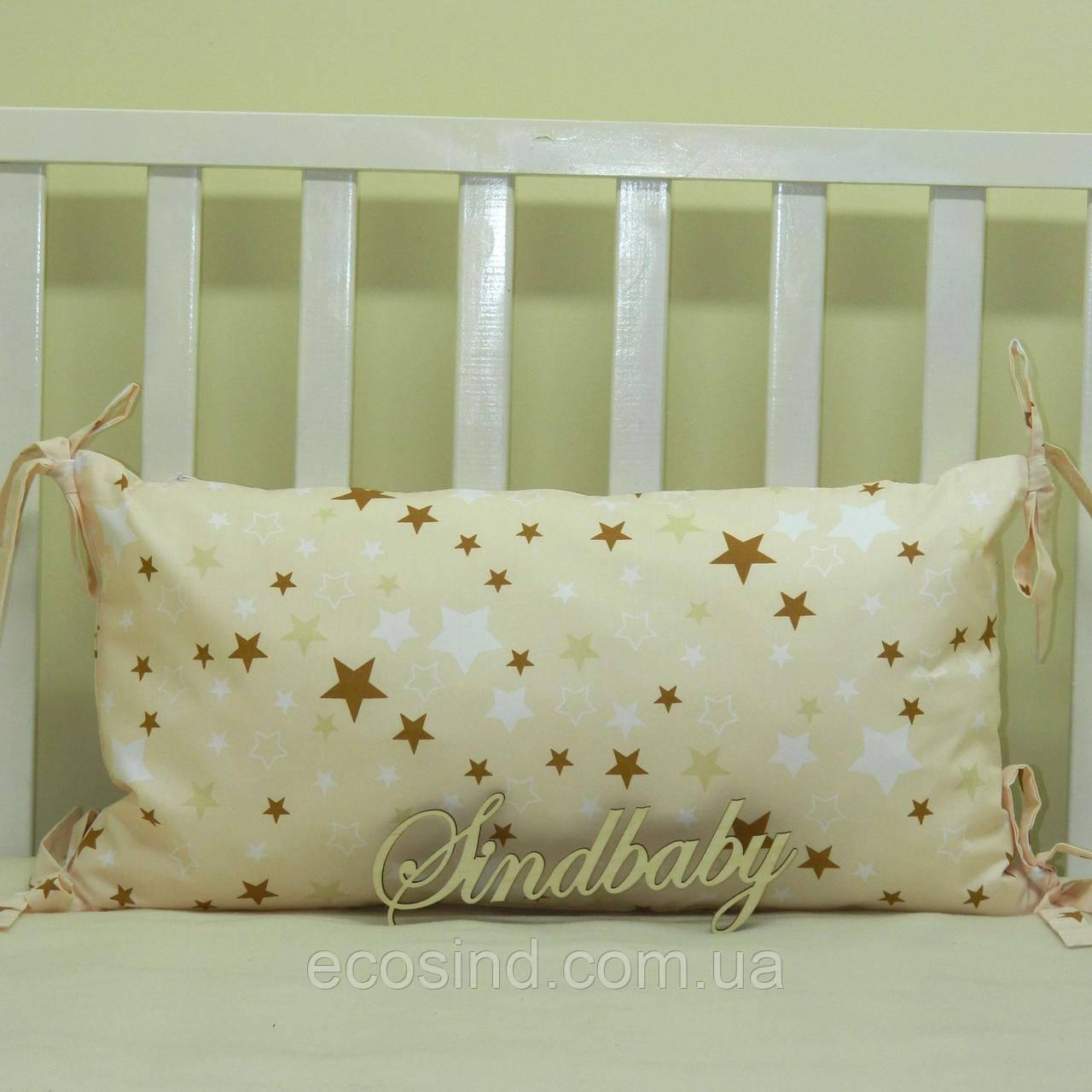 Бортики подушки в кроватку, Подушка 30х60 -39