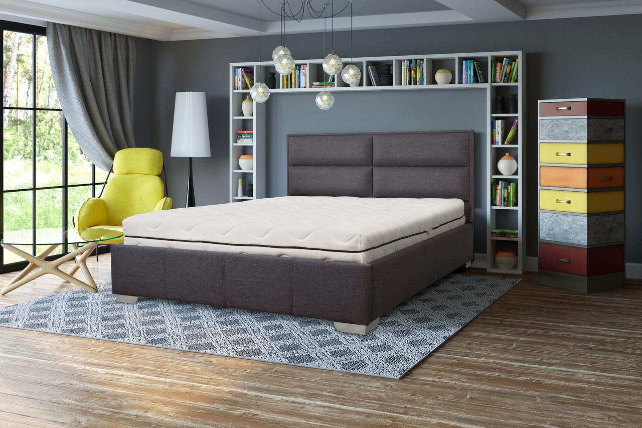 Мягкая кровать Сити с подъемным механизмом 140*200